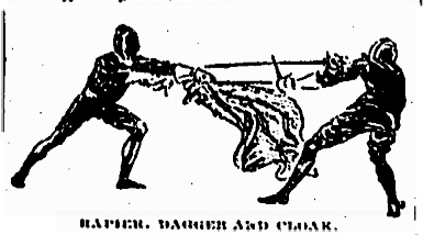 Rapier & Dagger fencing