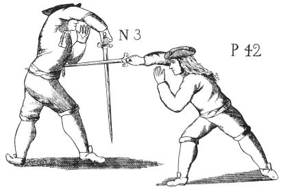 Plate from McBane's Expert Swordman's Companion